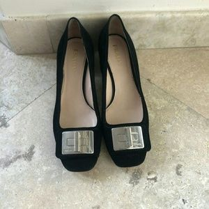 Prada suede pump 38.5 like new